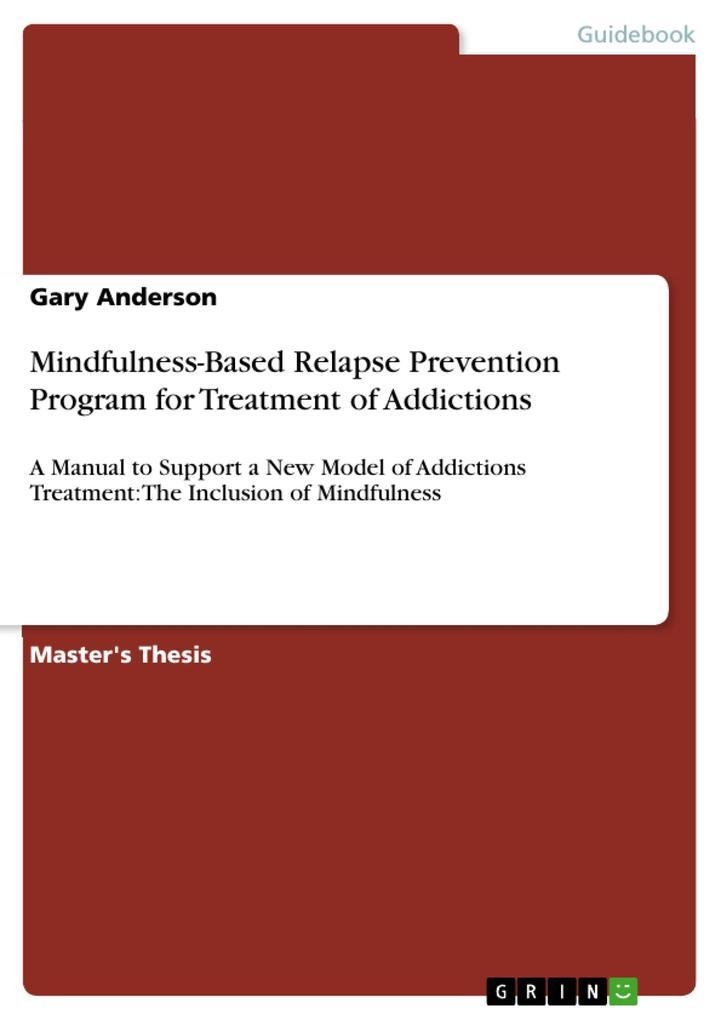 Mindfulness-Based Relapse Prevention Program fo...