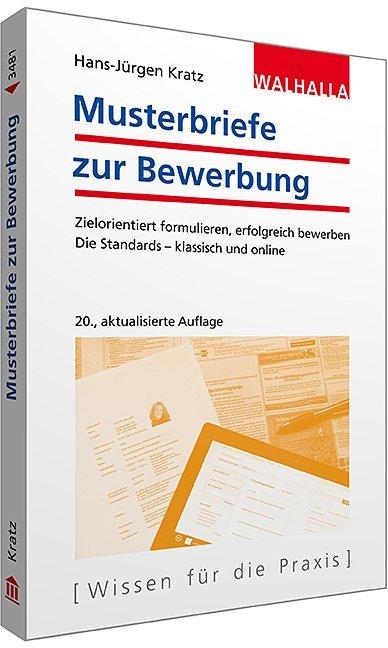 Musterbriefe zur Bewerbung als Taschenbuch von ...