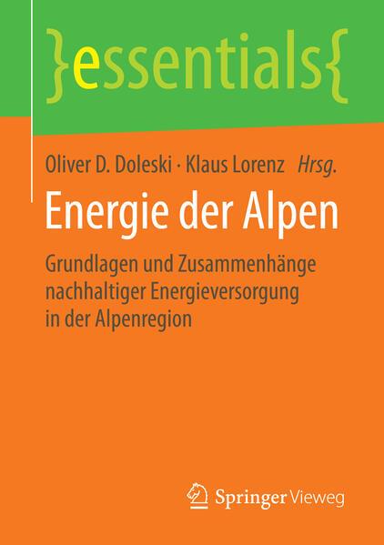Energie der Alpen als Buch von