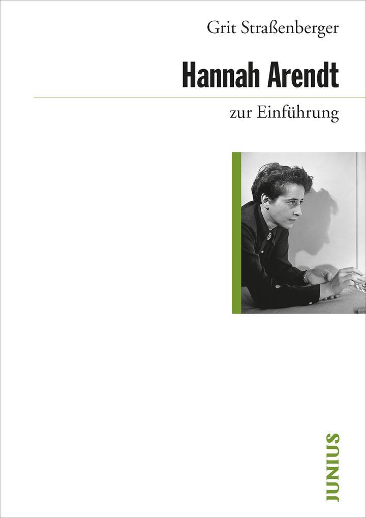 Hannah Arendt zur Einführung als Buch