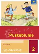 Pusteblume. Das Sprachbuch 2. Arbeitsheft. Druckschrift DS. Allgemeine Ausgabe