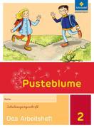 Pusteblume. Das Sprachbuch 2. Arbeitsheft. Schulausgangsschrift SAS. Berlin, Brandenburg, Mecklenburg-Vorpommern, Sachsen-Anhalt und Thüringen