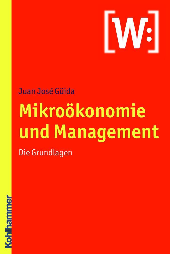 Mikroökonomie und Management als eBook Download...