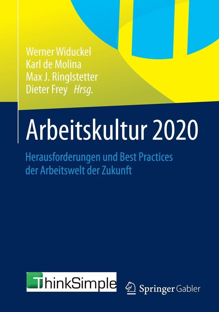 Arbeitskultur 2020 als eBook Download von