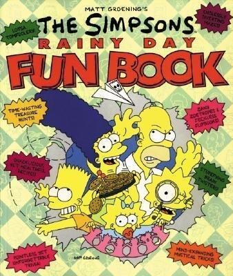 The Simpsons Rainy Day Fun Book als Taschenbuch