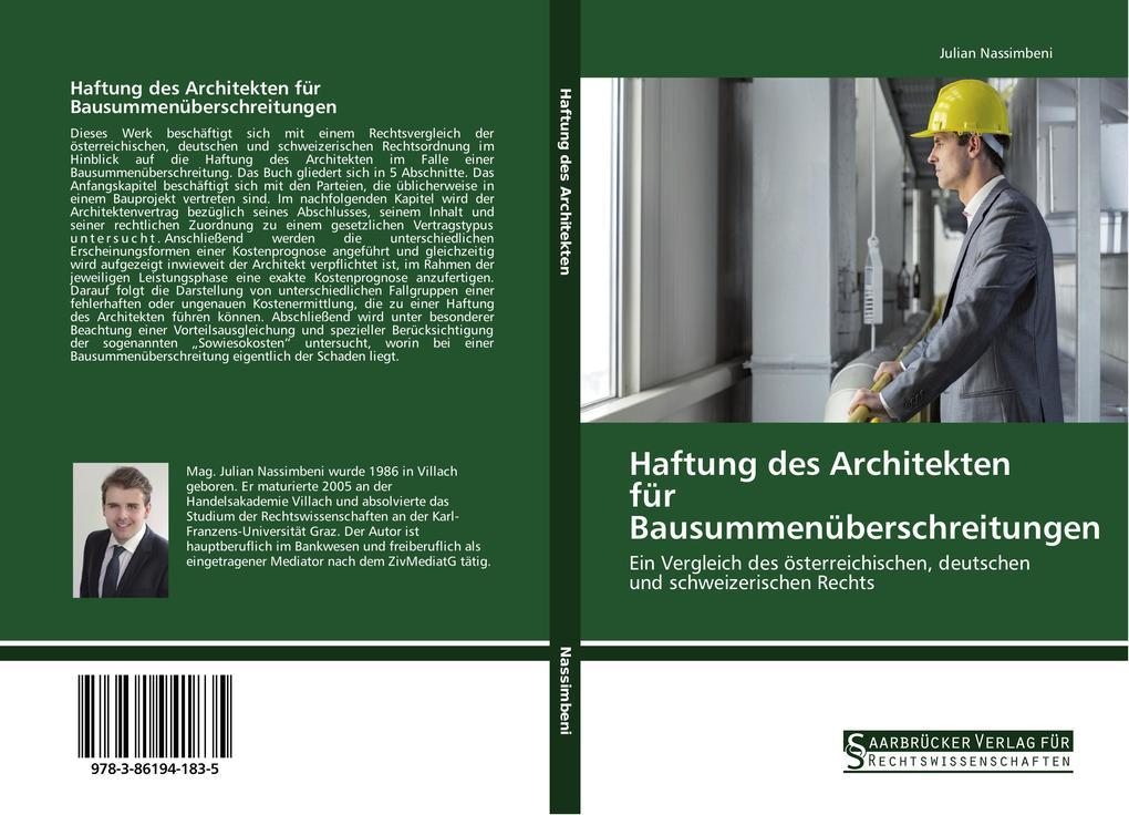 Haftung des Architekten für Bausummenüberschrei...