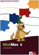 MiniMax / Lernplaner mit 32 Teste-dich-selbst-Seiten 4. Schuljahr