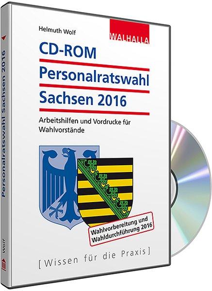 CD-ROM Personalratswahl Sachsen 2016