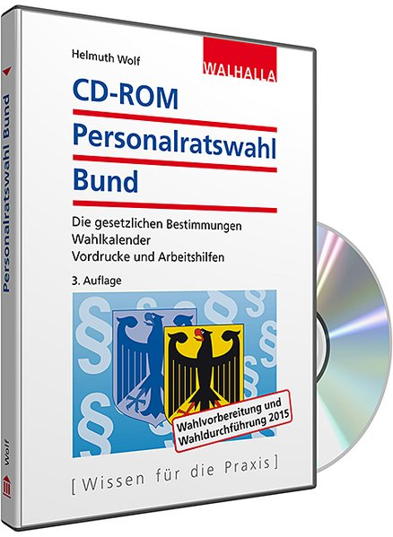 CD-ROM Personalratswahl Bund 2016