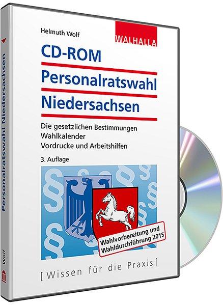 CD-ROM Personalratswahl Niedersachsen 2016