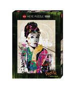 Heye - Standardpuzzle 1000 Teile - People Audrey