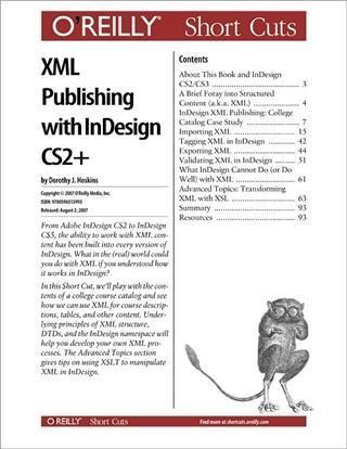 XML Publishing with InDesign CS2+ als eBook Dow...