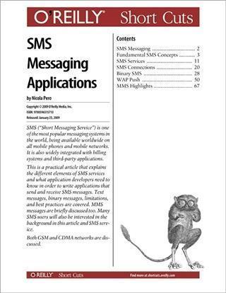 SMS Messaging Applications als eBook Download v...