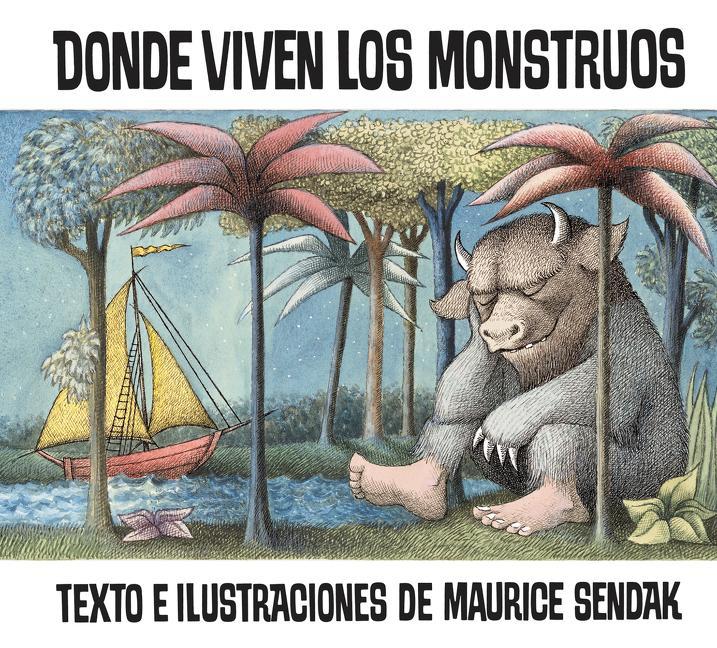 Donde Viven Los Monstruos als Taschenbuch