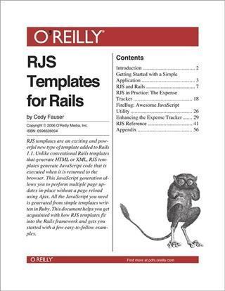 RJS Templates for Rails als eBook Download von ...