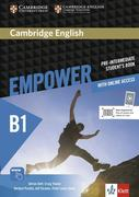 Cambridge English Empower. Student's Book (print) + assessment package, personalised practice, online workbook & online teacher support (B1)