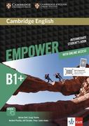 Cambridge English Empower. Student's Book (print) + assessment package, personalised practice, online workbook & online teacher support (B1+)
