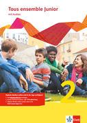 Tous ensemble Junior 2. Französisch als 1. Fremdsprache. Cahier d'activités mit MP3-CD