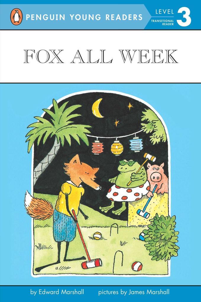 Fox All Week: Level 3 als Taschenbuch