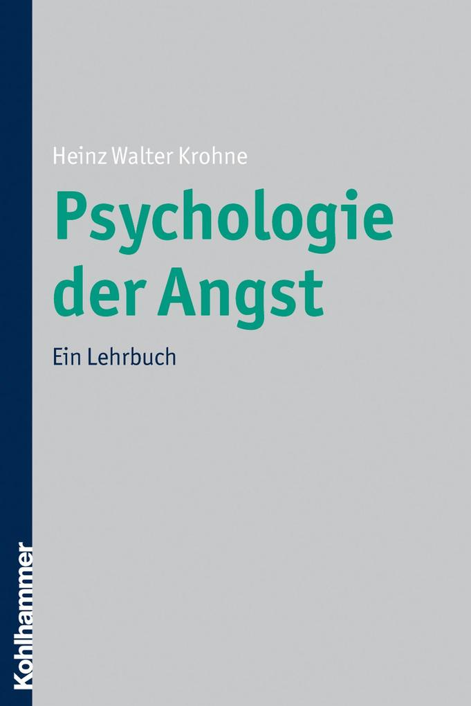Psychologie der Angst als eBook Download von He...
