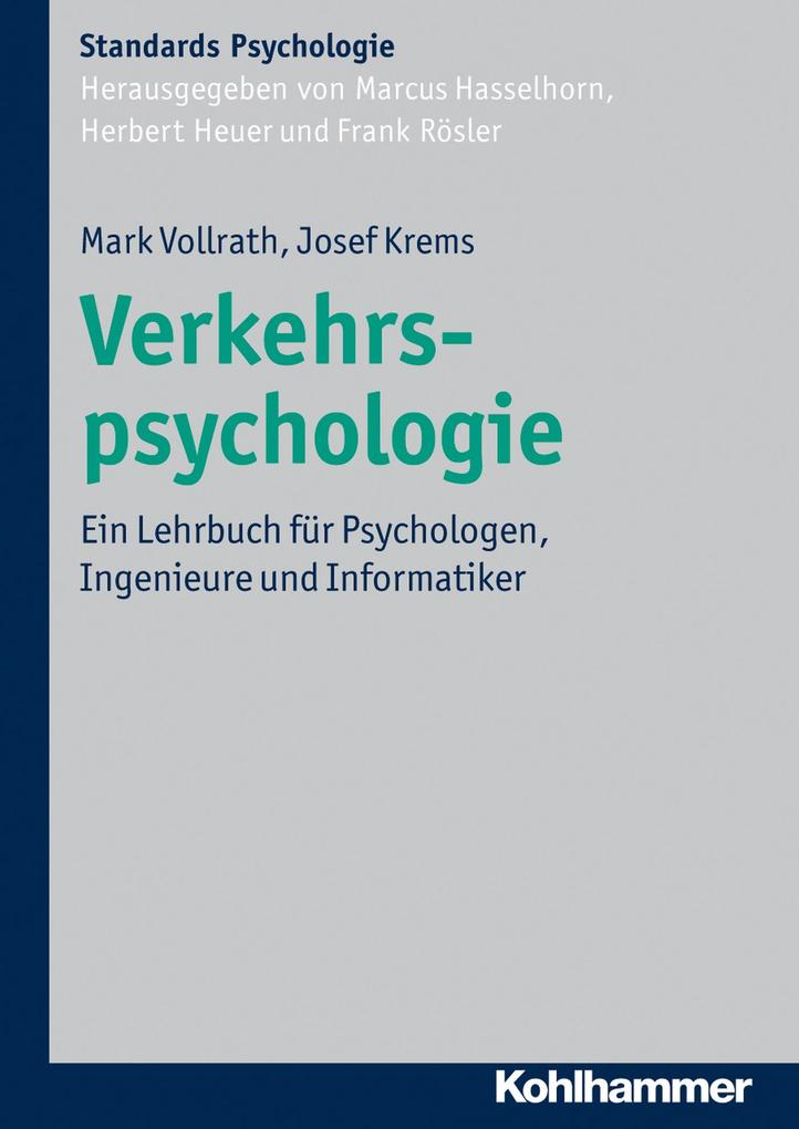 Verkehrspsychologie als eBook Download von Mark...