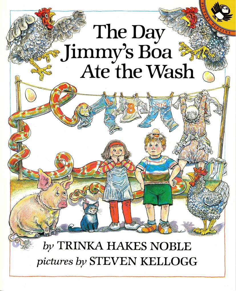 The Day Jimmy's Boa Ate the Wash als Taschenbuch