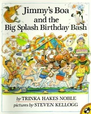 Jimmy's Boa and the Big Splash Birthday Bash als Taschenbuch