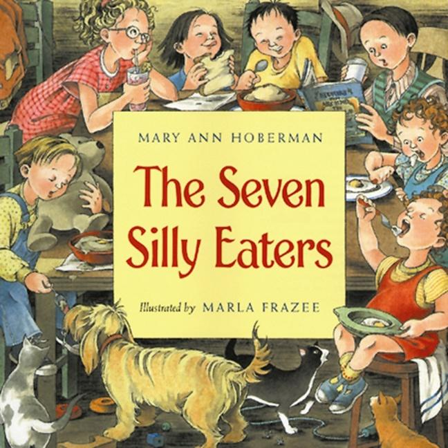 The Seven Silly Eaters als Buch
