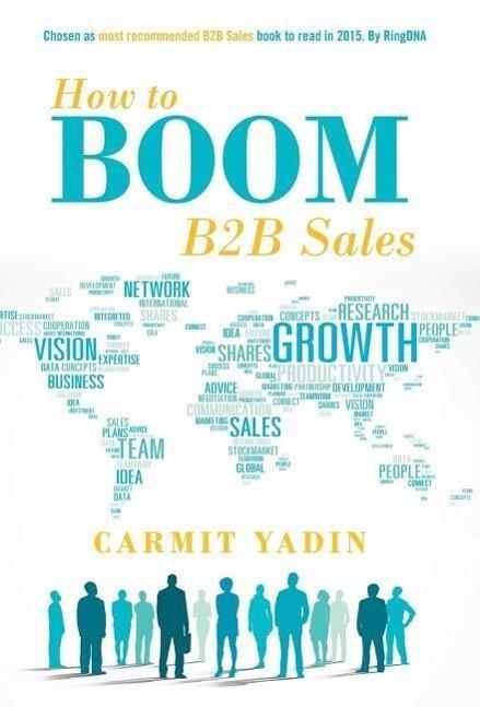 How to Boom B2B Sales als Buch von Carmit Yadin