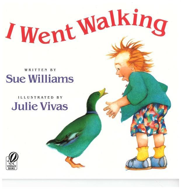 I Went Walking als Taschenbuch
