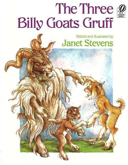 The Three Billy Goats Gruff als Taschenbuch