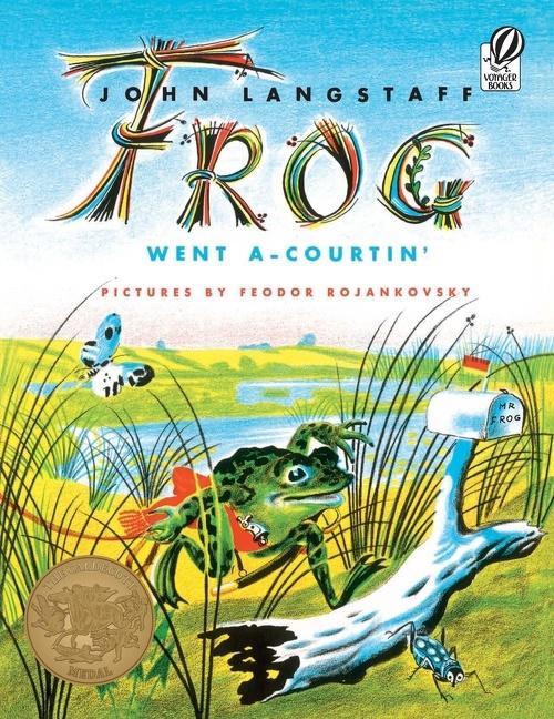 Frog Went A-Courtin' als Taschenbuch