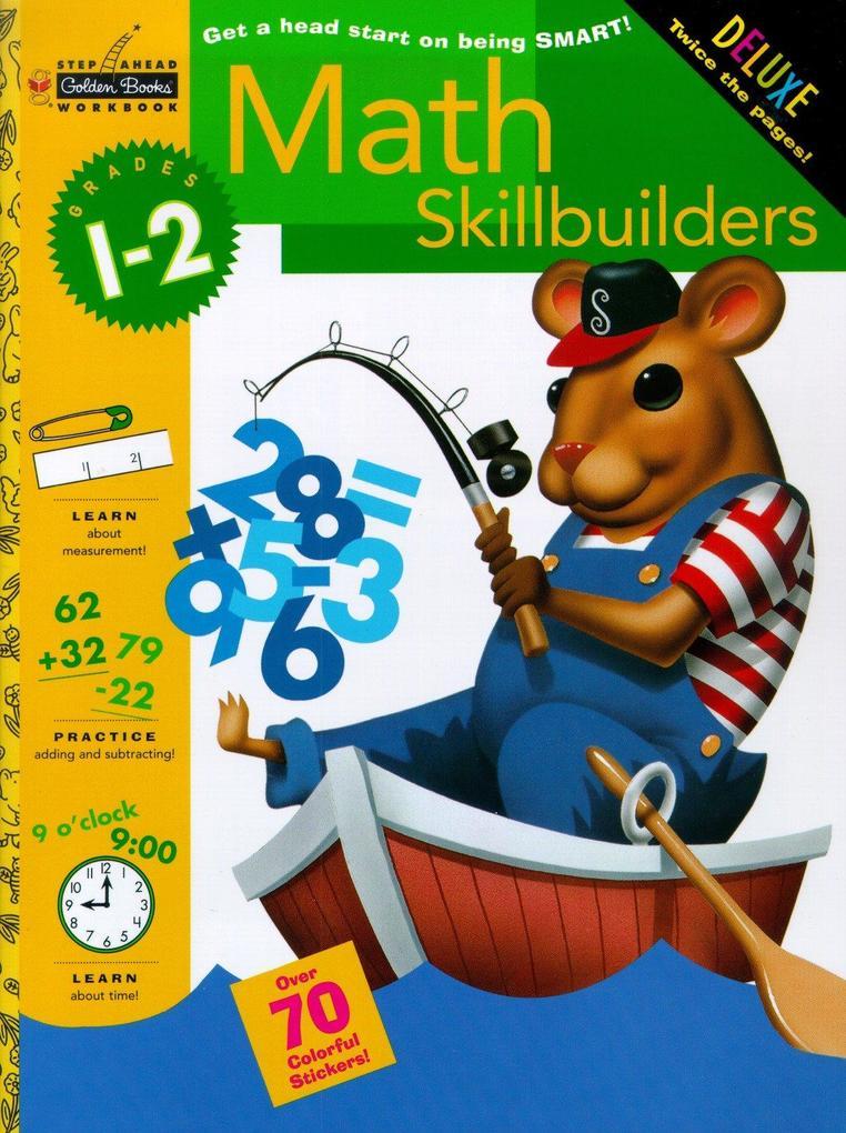 Math Skillbuilders (Grades 1 - 2) [With Stickers] als Taschenbuch