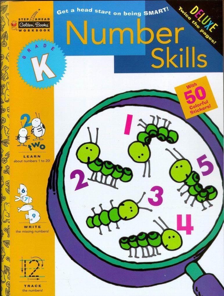 Number Skills (Kindergarten) als Taschenbuch