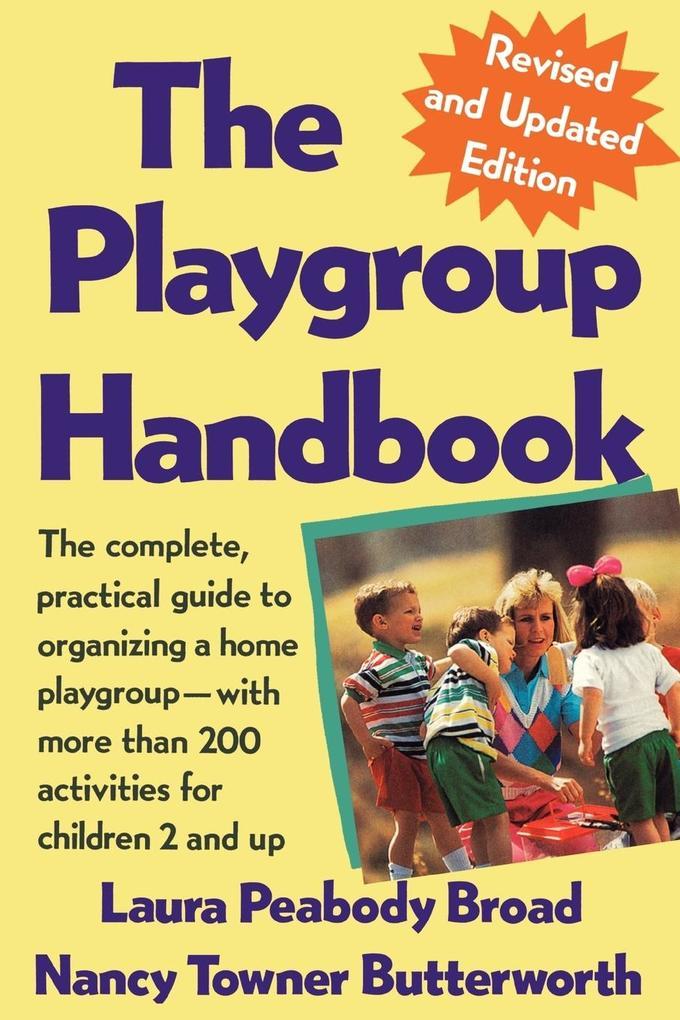 The Playgroup Handbook als Taschenbuch