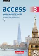 English G Access Band 3: 7. Schuljahr - Allgemeine Ausgabe Baden-Württtemberg - Klassenarbeitstrainer mit Audio-Materialien, Lösungen und Lerntipps Online