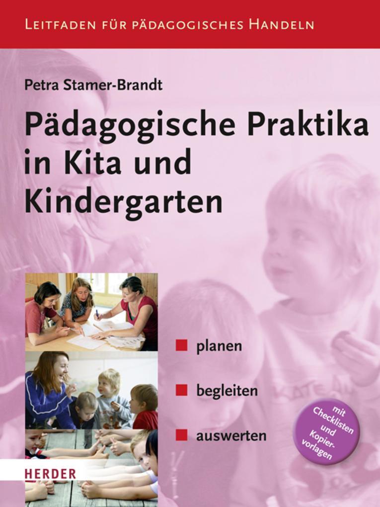 Pädagogische Praktika in Kita und Kindergarten als eBook