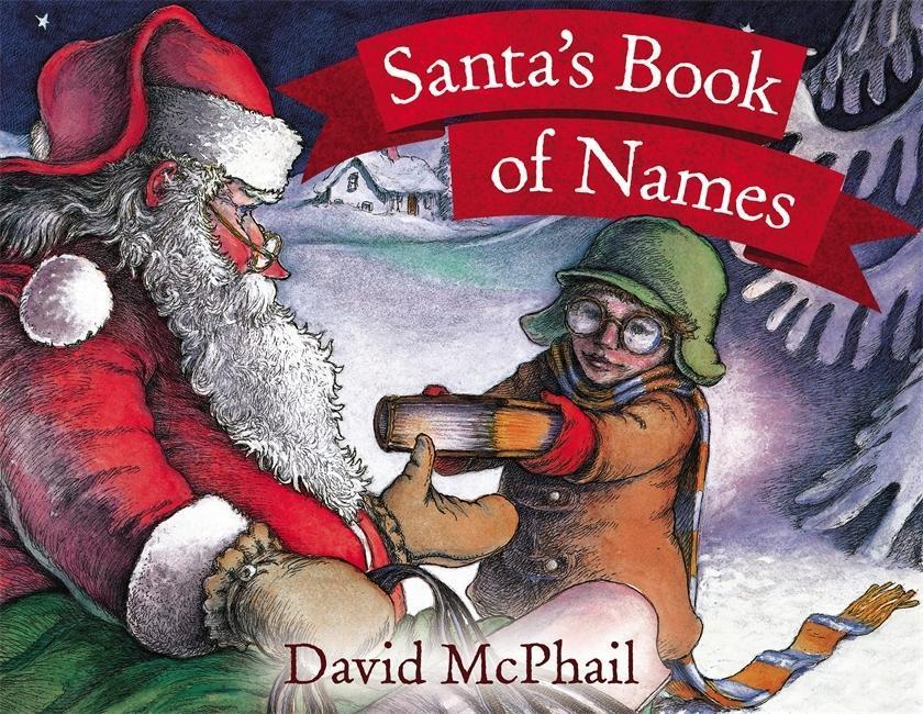 Santa's Book Of Names als Taschenbuch