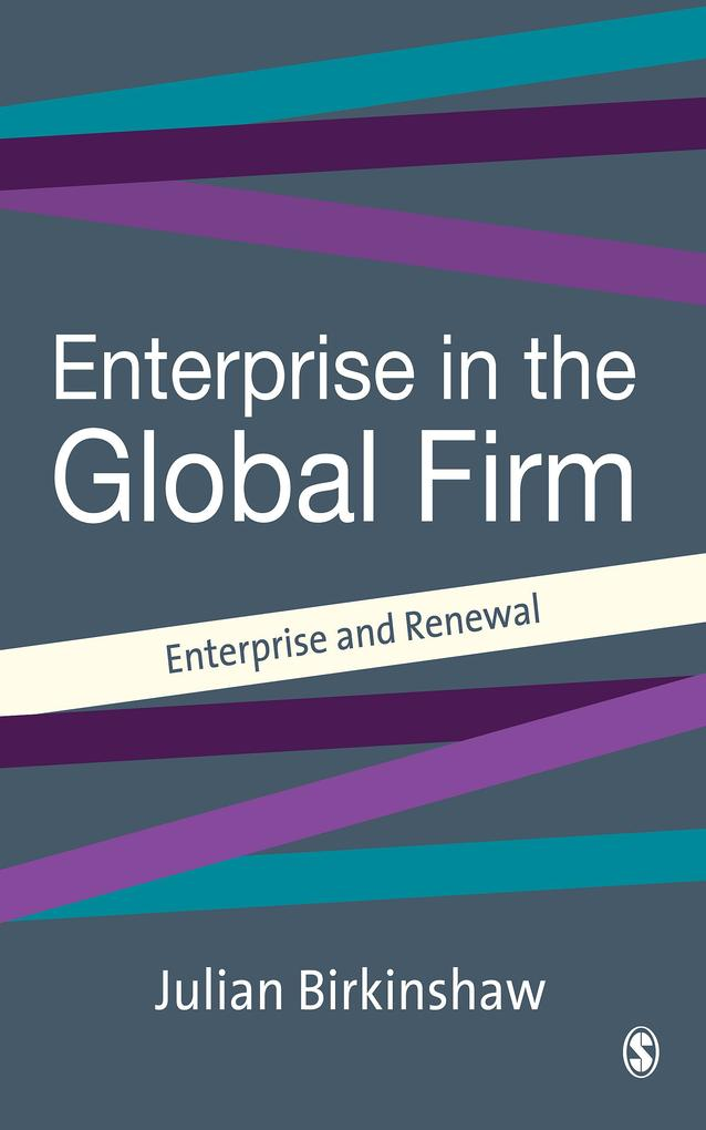 Entrepreneurship in the Global Firm als eBook D...