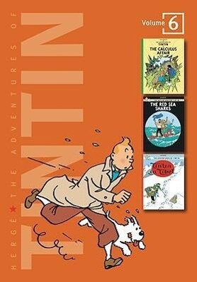 The Adventures of Tintin: Volume 6 als Buch