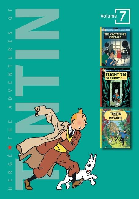 The Adventures of Tintin: Volume 7 als Buch