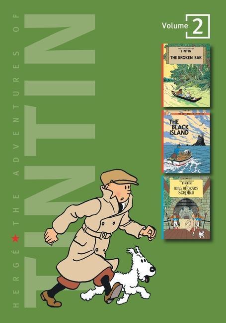 The Adventures of Tintin: Volume 2 als Buch