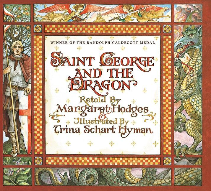 Saint George and the Dragon als Buch