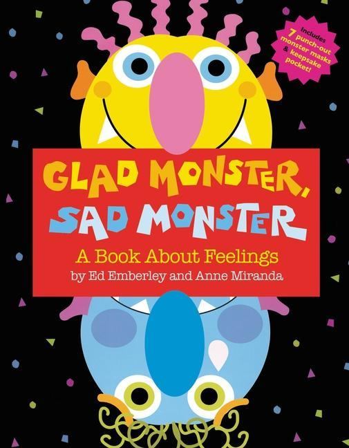 Glad Monster, Sad Monster als Buch