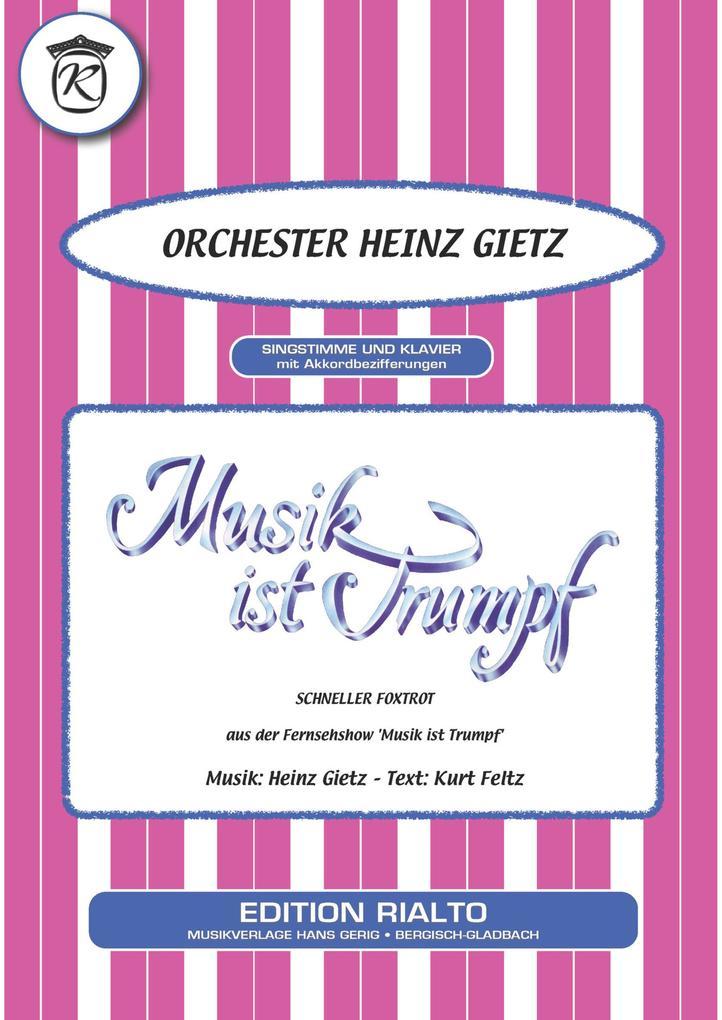 Musik ist Trumpf als eBook Download von Kurt Fe...