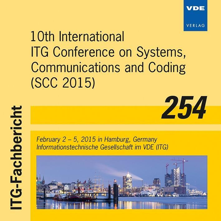 ITG-Fb 254: 10th International ITG Conference o...