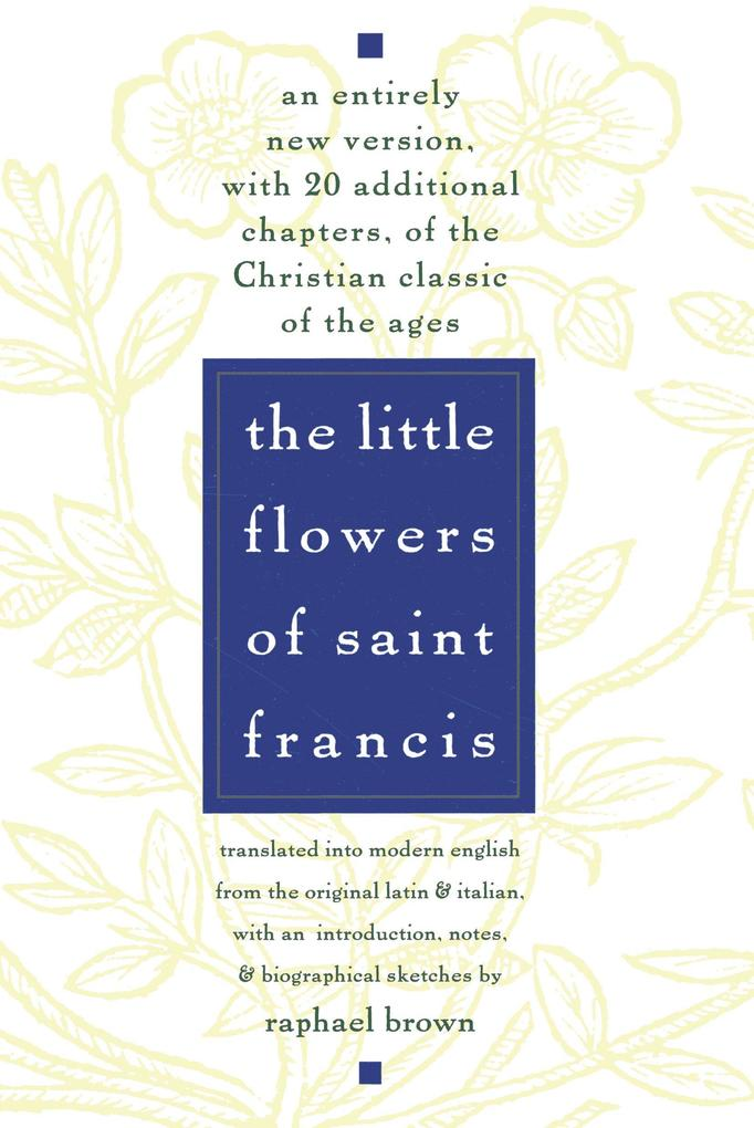 The Little Flowers of St. Francis als Taschenbuch
