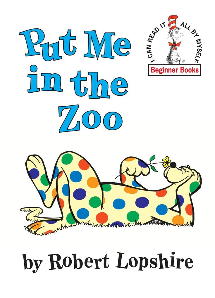 Put Me in the Zoo als Buch