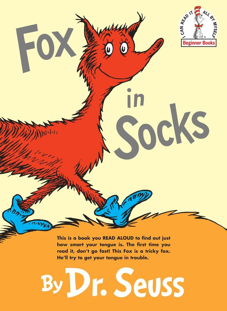 Fox in Socks als Buch