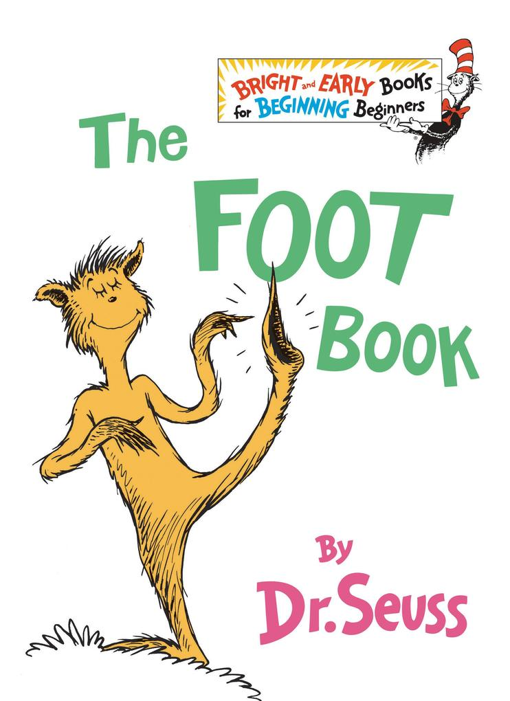 The Foot Book als Buch